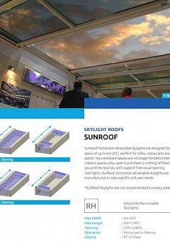 SunRoof Product information English
